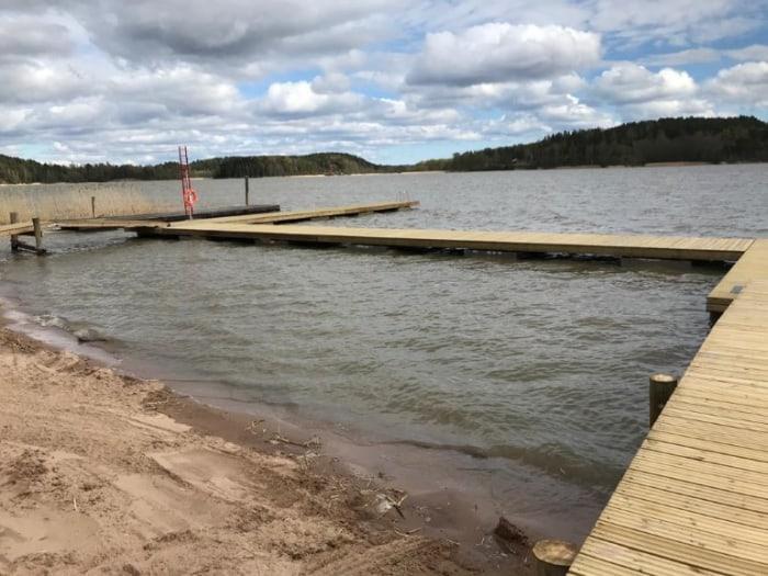 Salo Kokkila Uimalaiturit